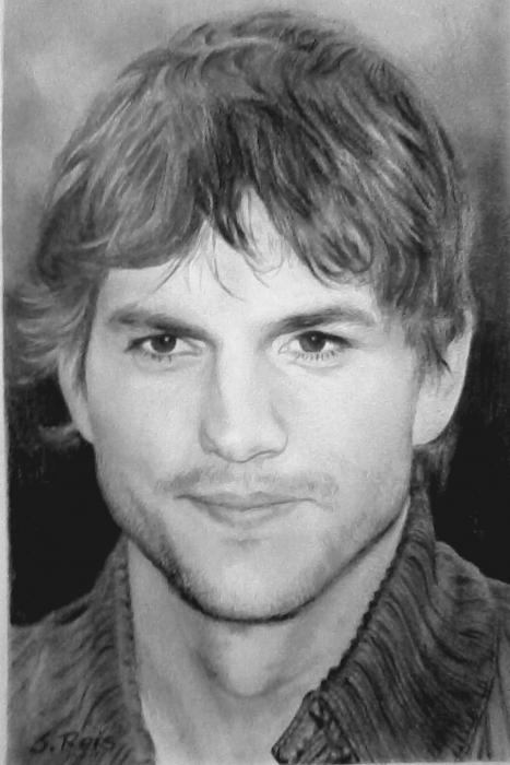 Ashton Kutcher by SilviaReis